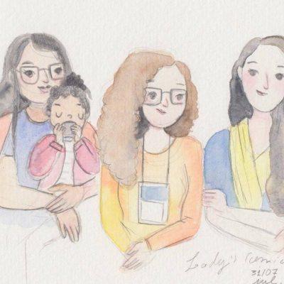 Quadrinhos na sala de aula, com Lady's Comics