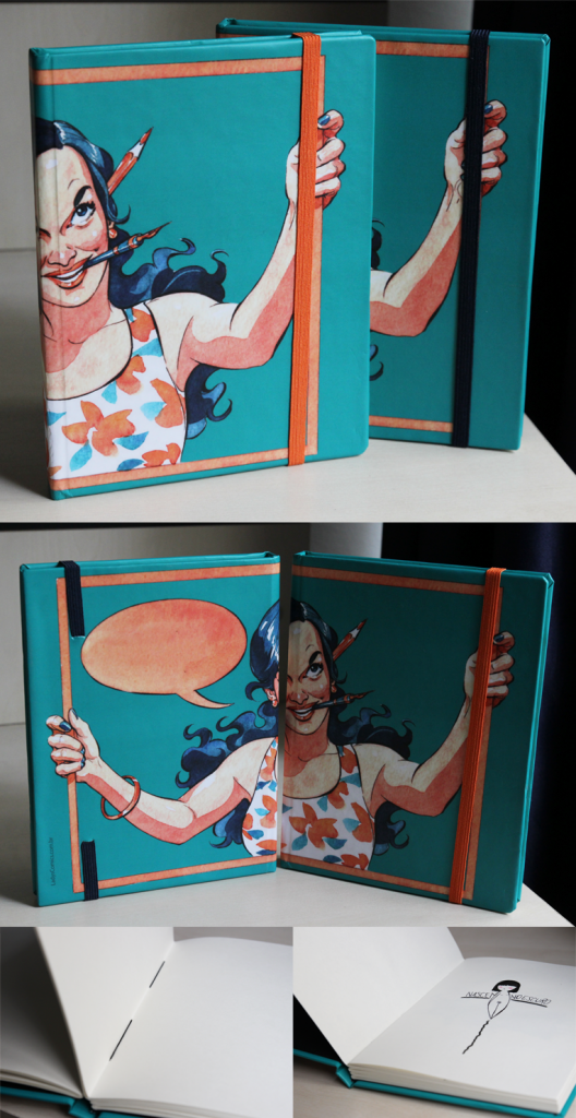 Caderno ~ R$36,00 ~ Só escolher a cor do elástico! ;)
