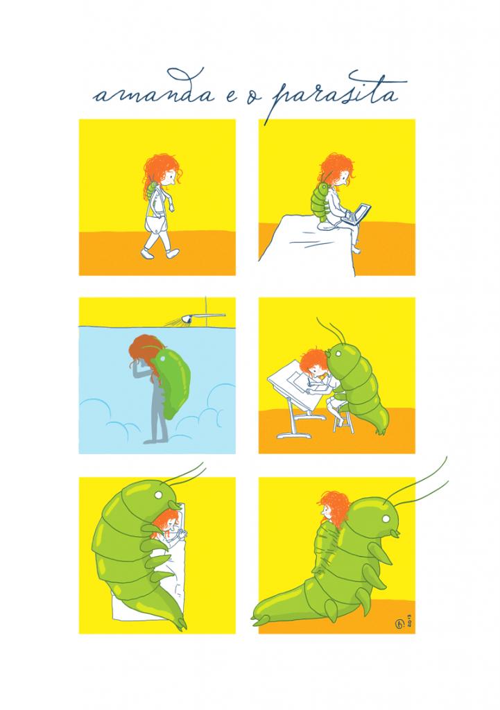 amanda e o parasita