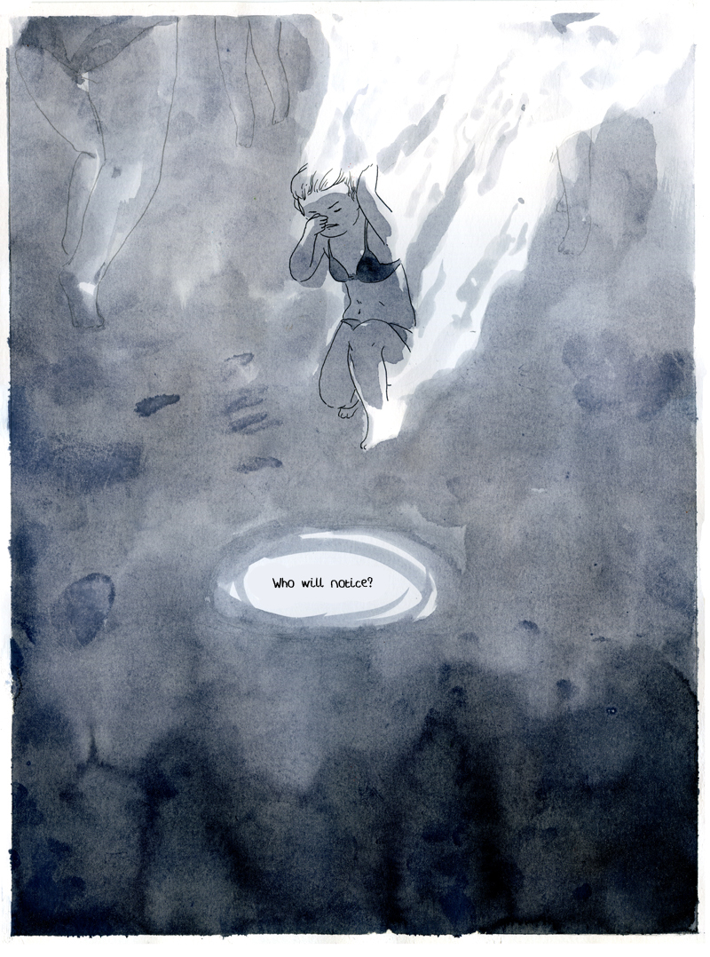 Última página do quadrinhos.