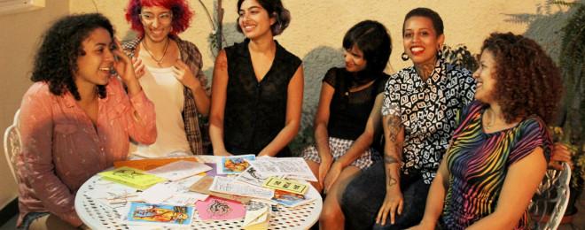 Bi Anca, Ana Schirmer, Aline Lemos, Carolita Cunha, Day Lima e Prisca Paes
