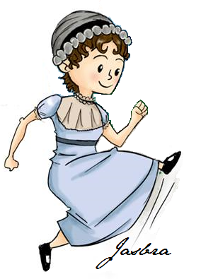 Logo do Jane Austen Sociedade do Brasil