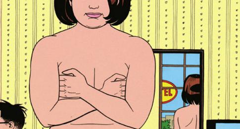 Maggie, numa das capas mais recentes. Ao fundo, ali no cantinho, Hopita. Serião, cês precisam ler L&R