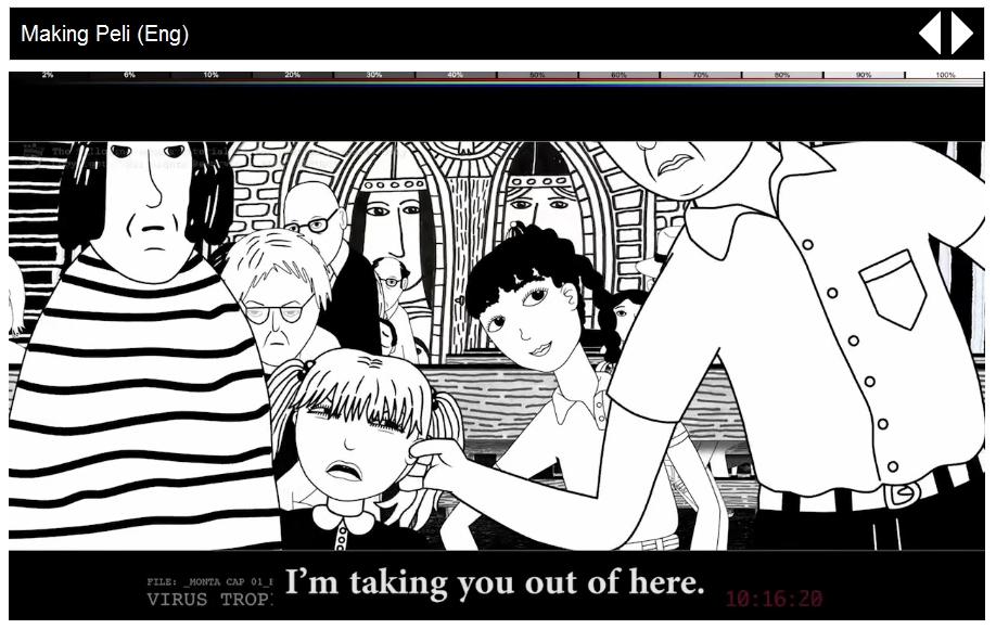 Cena da animação que está sendo produzida. Link para o trailer aí embaixo!