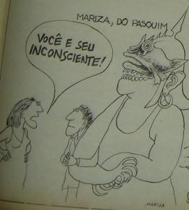 MARIZA. Nós Mulheres, Brasil, março-abril de 1977. Edição 4. Coluna de Humor, p. 9.